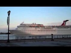 #Carnival Elation: we saw it in #NOLA leaving for its Christmas cruise    More about our travels at www.wesaidgotravel.com