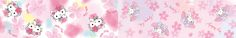Hello Kitty My Melody spring design series
