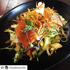 #Repost @chloebrown50  Twice Cooked Pork Belly with Asian salad.... Need I say more #amazing  #bohemia #lunch #bestever #eat3280 #porkbelly #cafe #salad #food #foodpic #foodies #instagood by bohemia_cafe