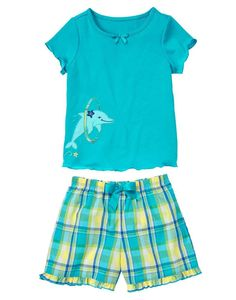 Gymboree kids clothing celebrates the joy of childhood. Shop our wide selection of high quality baby clothes, toddler clothing and kids apparel. Gymboree, Pajama Set, Wedding Gowns, To My Daughter, Aqua, Rompers, Ebay, Polyvore, Swimwear