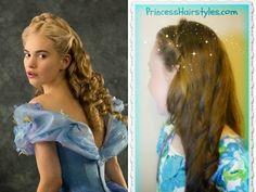 Cinderella hair video tutorial