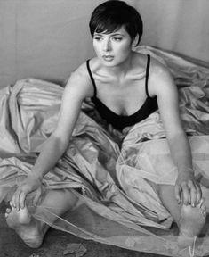 Isabella Rossellini Purple Dress