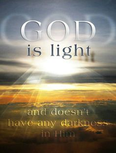 "Jesus IS the Light of the world! Come to Him for Salvation while it's still ""Today!"""