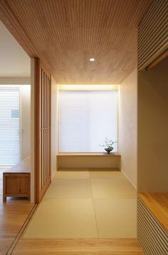 Modern Japanese Interior, Japanese Modern, Minimalist Home Interior, Japanese House, Futuristic Design, Architecture Design, House Design, Yukata, Room