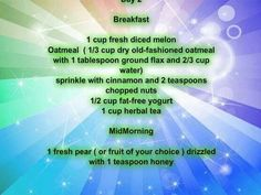 Day 2 Meal Plan 1200 Calories Breakfast