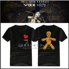 VIXX VOODOO Voice Visual Value in Excelsis t shirt short-sleeved T-shirt
