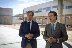 Borja Sarasola ha visitado junto a Antonio González, alcalde de Boadilla del Monte, las obras del segundo centro de salud del municipio