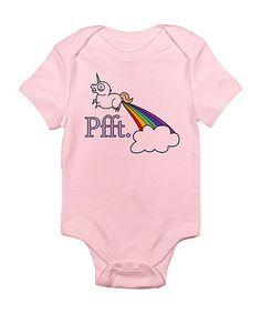 Petal Pink 'Pfft.' Bodysuit - Infant by CafePress on #zulily