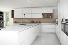 hvid og eg køkken - Google-søgning