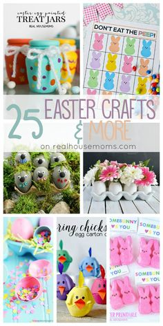 25 Easter Crafts & More on Real Housemoms
