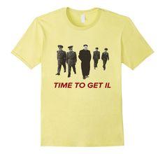 c296212d Men's Time to Get Il North Korea Communist T-Shirt 2XL Lemon North Korea,