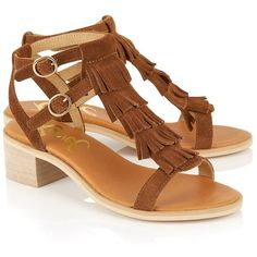 Ravel Fringe Detail Sandals (2.715 RUB) ❤ liked on Polyvore featuring shoes, sandals, lipsy shoes, fringe shoes, ankle wrap sandals, ankle wrap shoes and ankle tie sandals