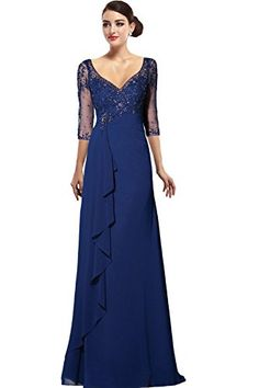 Cocomelody Womens A-line 3/4 Sleeves Mother of Bride Dress Plus size 18 blue COCOMELODY http://www.amazon.com/dp/B00REH5E4E/ref=cm_sw_r_pi_dp_CVG5ub065KGNA