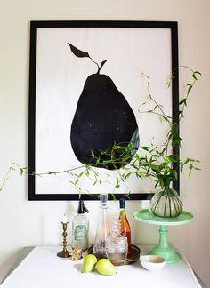 DIY Large-Scale Picture Frame at Design*Sponge diy - Hotel Room Ideas Diy Wall Art, Diy Art, Cadre Photo Diy, Marco Diy, Cadre Design, Bed Design, Diy Poster Frame, Cuadros Diy, Large Picture Frames