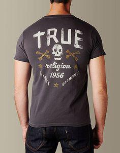 True Religion Mens Skull And Bones...    $68.00