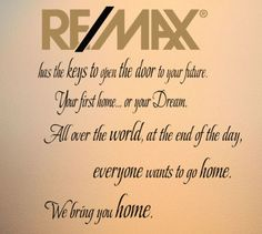 REMAX Logo Wall Decals