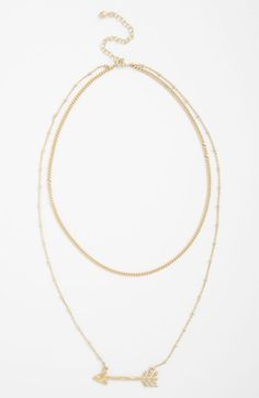 Nordstrom Azteca Multistrand Pendant Necklace available at #Nordstrom $28.00