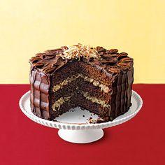Bake Sale Classics: Cakes    German Chocolate Cake   MyRecipes.com