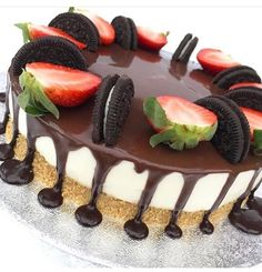 Oreo Cheesecake, Pudding, Cake Decorating, Desserts, Food, Ideas, Food Cakes, Tailgate Desserts, Deserts