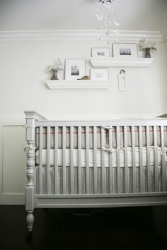 Heather! Yes! This crib would be perfect in that turquoise or robins egg distressed blue!