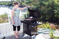 Marias Matglede ♥: Grill grønt! Norwegian Food, Grilling, Bbq, Vegetarian, Barbecue, Barbacoa, Backen