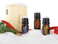Love the smell of Peppermint and Wild Orange, with a touch of On Guard to keep germs away for the holidays.  Nice wood gift box as a bonus!