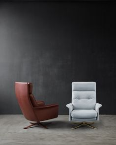 Glen High-Back Lounge Chair by Intertime