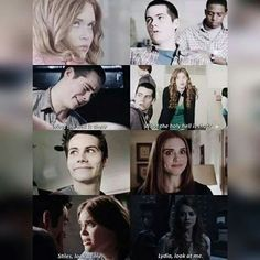 Stydia parallels - they are so similar sometimes, why cant they be together? Stiles Teen Wolf, Teen Wolf Stydia, Teen Wolf Boys, Teen Wolf Dylan, Teen Wolf Cast, Teen Wolf Memes, Teen Wolf Quotes, Teen Wolf Funny, Dylan O'brien