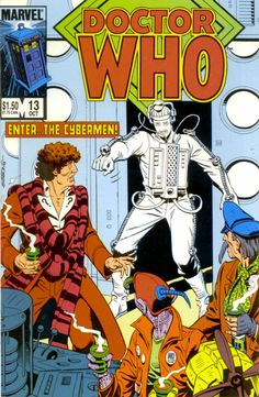 Doctor Who #13, October 1985, cover by Dave Gibbons