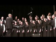 Sharon Singers of Sharon Mennonite Bible Institutes 3rd term 2009 sing at Night of Music