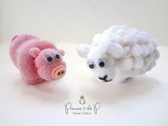 THE ORIGINAL Washcloth Sheep Lamb Diaper by PrincessAndThePbaby, $5.99