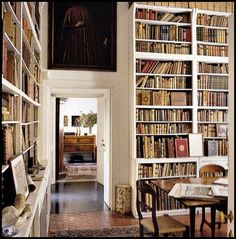 A Library to Envy   Content in a Cottage - [someone else's caption]