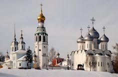 Vólogda es una ciudad, centro administrativo de la óblast de Vólogda de la Federación Rusa.