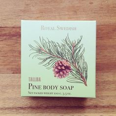 pine body soap @nouvellenouvelle- #webstagram