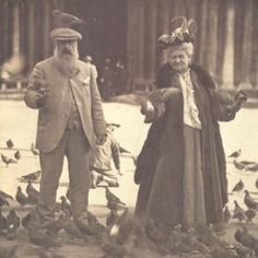 Claude and Alice Monet, Venice, October 6, 1908    I find this adorable.