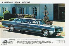 1966 Pontiac Sedan Limousine by Stageway General Motors, Vintage Cars, Antique Cars, Flower Car, Pontiac Cars, Car Advertising, Us Cars, Car Detailing, Luxury Cars