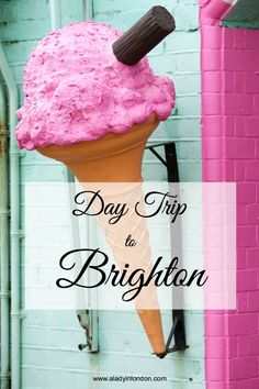 Day trip to Brighton. I love Brighton. Less than an hour by train from the UK capital, Brighton is one of the easiest day trips from London. Brighton England, Visit Brighton, London England, Uk Capital, Day Trips From London, Voyage Europe, Before Wedding, Easy Day, London Life