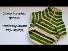 Свитер для собаки крючком /Crochet Dog Sweater.. Обсуждение на LiveInternet - Российский Сервис Онлайн-Дневников