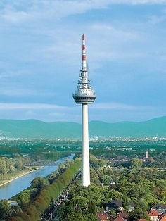 Ausflugsziel: Mannheim Fernsehturm #Frühlingsreise