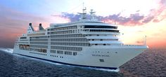 The Silver Muse from Silversea Cruises #silversea #cruises @silverseacruise