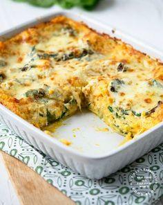 Ideas For Pasta Dinner Vegetarian Butternut Squash Butternut Squash Lasagna, Spinach Lasagna, Roasted Butternut Squash, Vegetable Dishes, Vegetable Recipes, Pasta Dishes, Food Dishes, Vegetarian Lasagna Recipe, Healthy Lasagna Recipes
