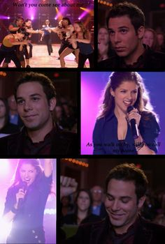 Pitch perfect - The raised fist cemented my love for Skylar Astin :)
