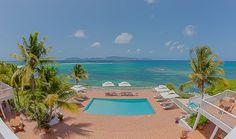 Natural beauty and quiet elegance are what you'll find at Villa Paradise, our 6-7 bedroom seaside estate. #anguilla
