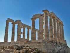 The Temple of Poseidon, Cape Sounion, Athens