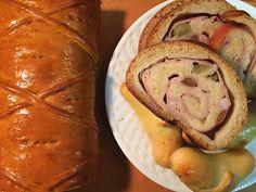 O que temos hoje Elisa?: Pão com presunto (Pan de jamón- receita venezuelana) World Bread Day