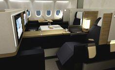 SWISS International Air Lines, First Class.