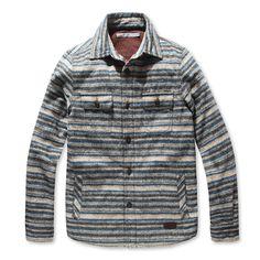 [Series] moonshine stripe quilting shirts