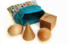 Montessori Geometric Solids for Toddlers