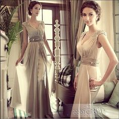 En Güzel Yazlık Şifon Abiye Elbiseler resmi