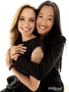 """With director Jennifer Yuh Nelson, photographed for """"The Hollywood Reporter"""" in 2011"""